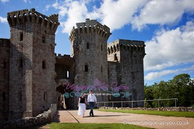 Raglan Castle Wedding