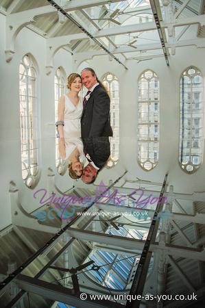 wedding photographer old chemistry lab