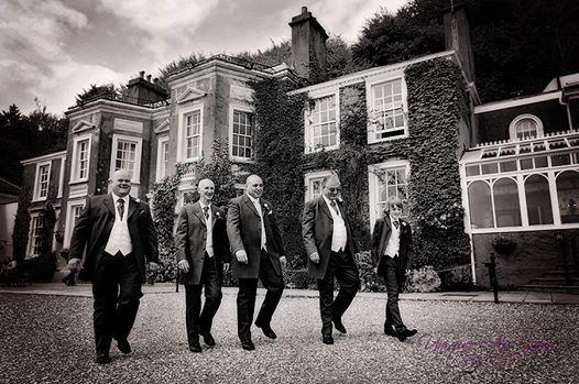 groomsmen brecon wedding