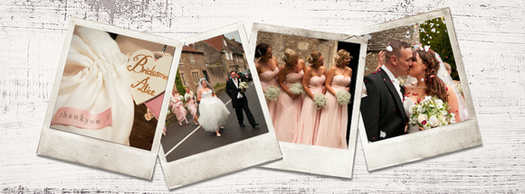 cheltenham wedding brides and bridesmaids