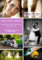 unique as you wedding photography flier